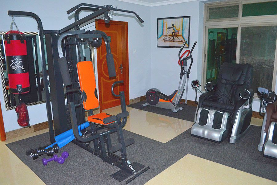 Health Gym Naguru ViewPointe Apartments
