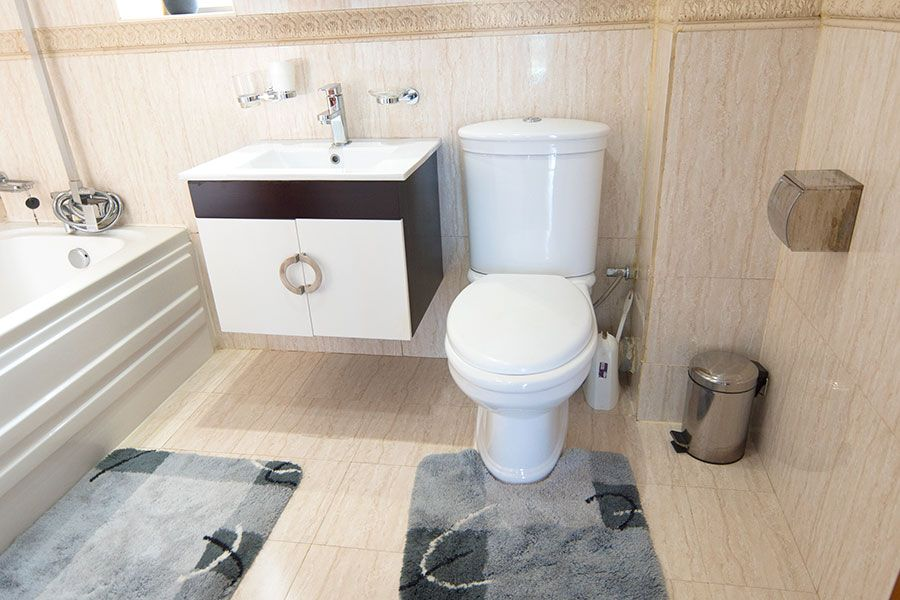 Beautiful and Clean Naguru ViewPointe Apartment Bathrooms