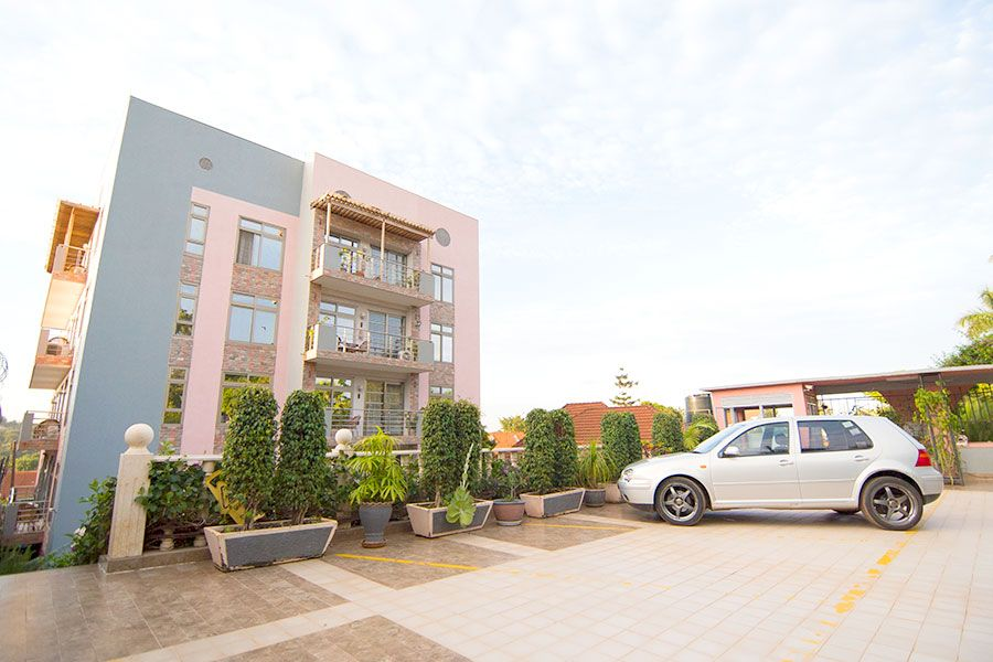 Ample Parking Naguru ViewPointe Apartments