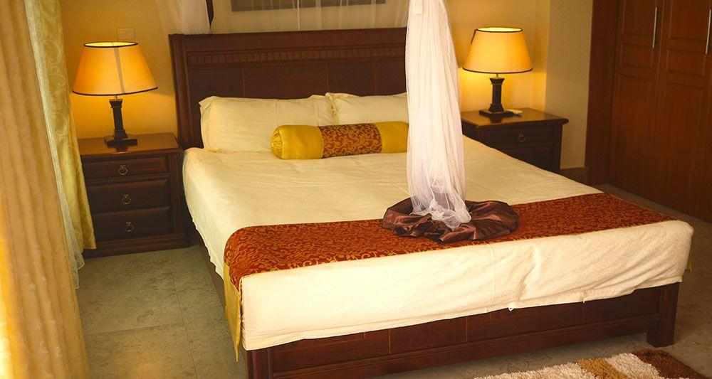 King Size Beds - Naguru ViewPointe Apartments