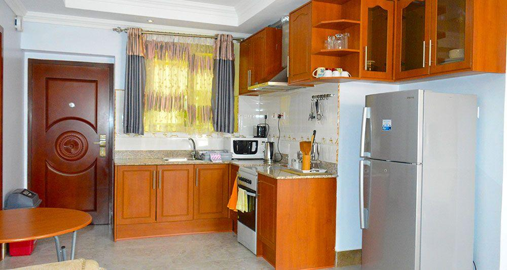 Three Bedroom Apartment Self Catering Kitchen